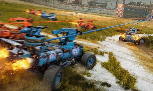 В Crossout появился футбол на машинах