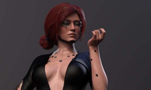 Как Трисс и Йеннифэр из «Ведьмака» выглядят в мире Cyberpunk 2077