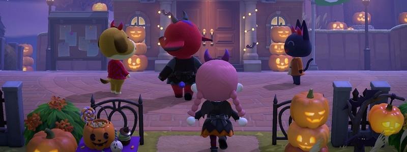 Анонсировано празднование Хэллоуина в Animal Crossing: New Horizons