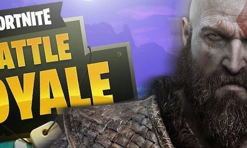 Утечка: Кратос из God of War появится в Fortnite