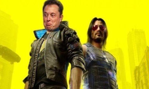Илон Маск пошутил над проблемами Cyberpunk 2077