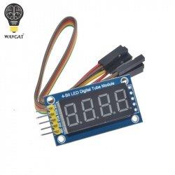 Cветодиодный индикатор на 74HC595