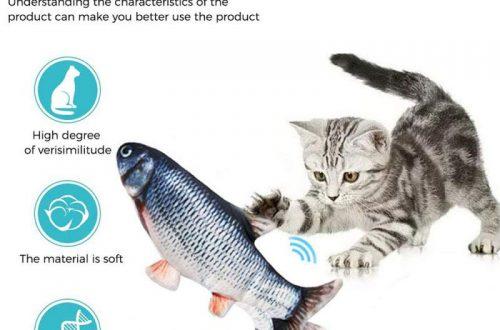 Игрушка для кота - электрическая рыба с мятой ($3.10)