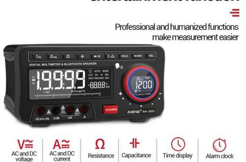 TrueRMS мультиметр ANENG AN999S с Bluetooth за $74.99