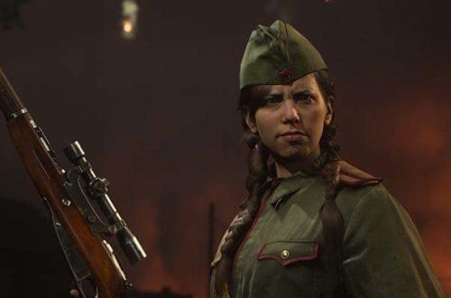 Первый геймплей Call of Duty: Vanguard за Полину в Сталинграде
