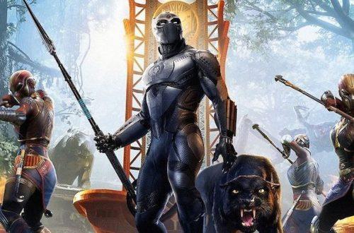 Черная пантера появился в «Мстителях Marvel»