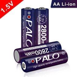 Аккумулятор Palo 1,5В превращается...