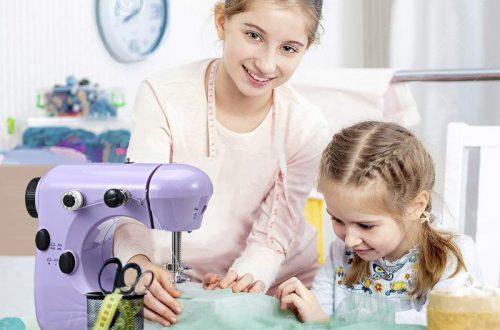 Компактная электрическая швейная машинка JETEVEN за $18.99