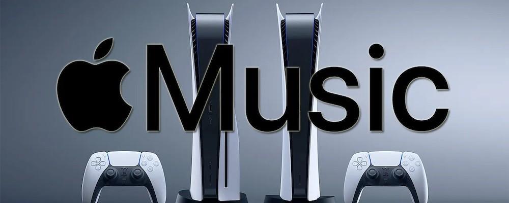 Apple Music теперь работает на PS5